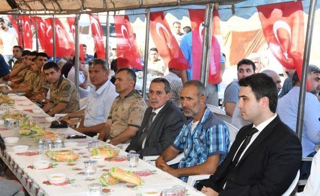 Şehit Uzman Çavuş Cevdet Canördek'in mevlidi okutuldu