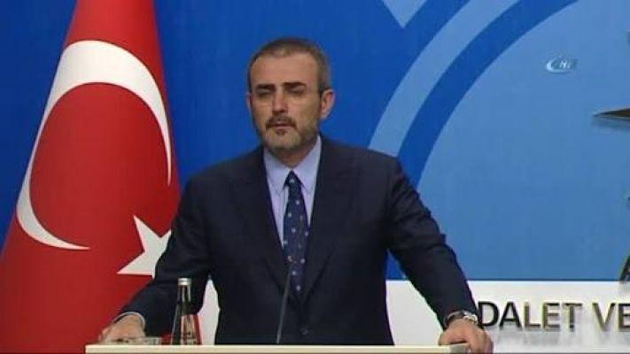 """AK Parti Sözcüsü Ünal: """"CHP'nin tavrını CHP'ye oy verenler de kabul etmiyorlar"""""""