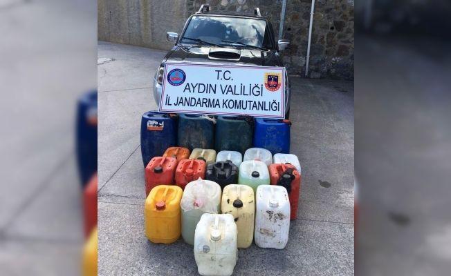 Şantiyeden çalınan 600 litre mazot jandarma tarafından bulundu