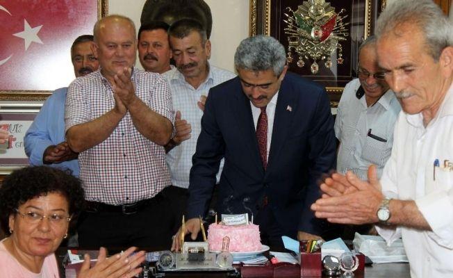 Muhtarlardan Başkan Alıcık'a büyük sürpriz