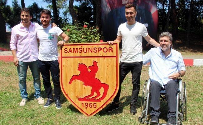 Samsunspor'da imza şov sürüyor