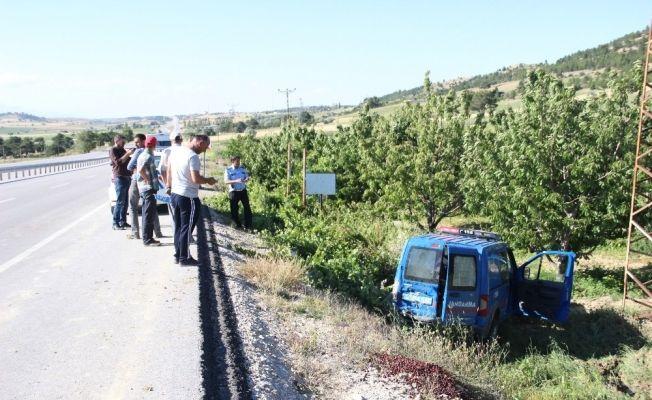 Karaman'da jandarma aracı kaza yaptı: 2 asker yaralandı