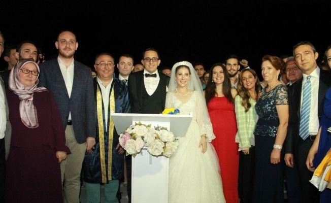 Fenerbahçe Başkanı Ali Koç Yalova'da nikaha katıldı