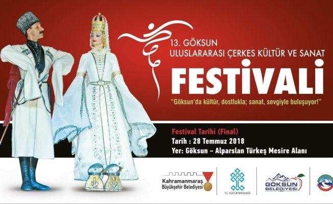 13. Göksun Uluslararası Çerkes Kültür ve Sanat Festivali