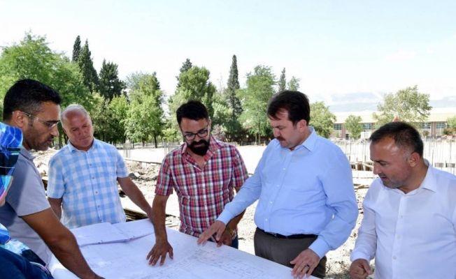 Kahramanmaraş'a yeni bir kongre salonu