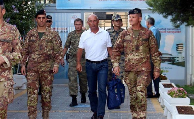 İtalyan Komutan Kahramanmaraş'ta