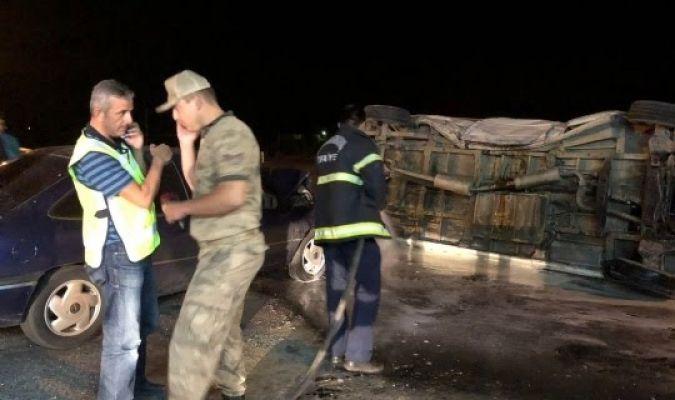 Afşin'de trafik kazası: 5 yaralı