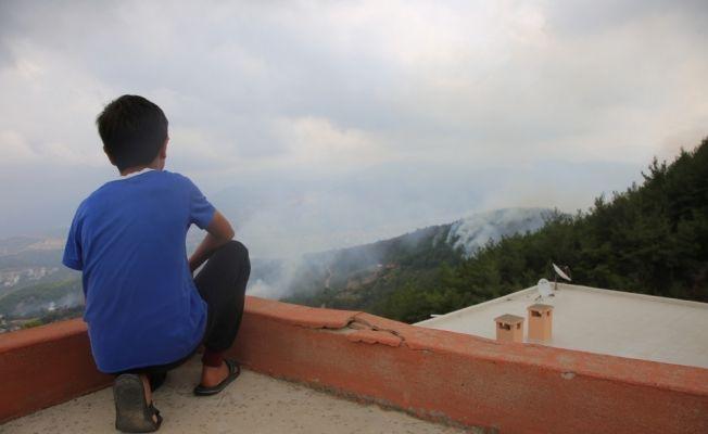 GÜNCELLEME - Hatay'da orman yangını