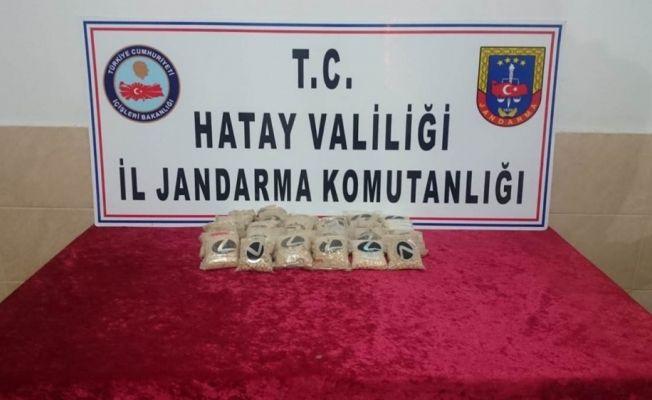 Hatay'da 21 bin 750 uyuşturucu hap ele geçirildi