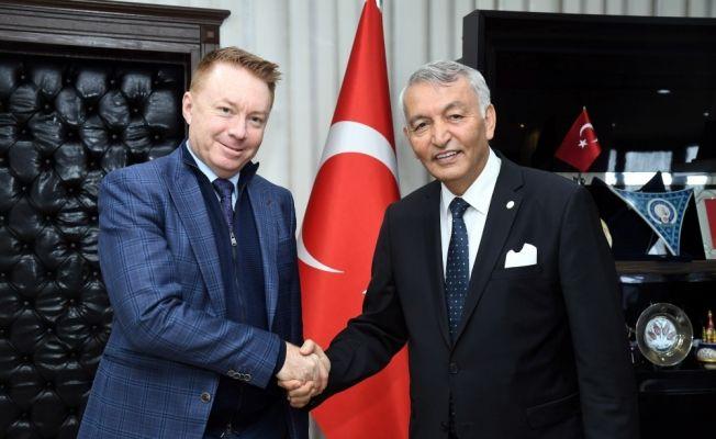 Avustralya'nın Ankara Büyükelçisi Innes-Brown, Isparta'da