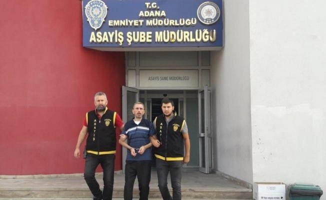 Adana'da firari hükümlü yakalandı
