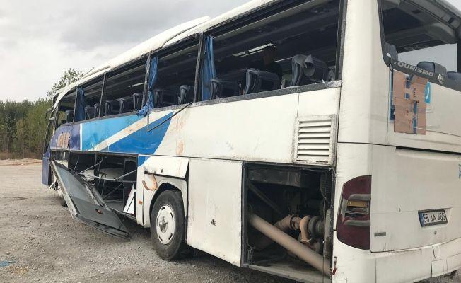 Göksun'da meydana gelen otobüs kazası ile ilgili kahreden detaylar...