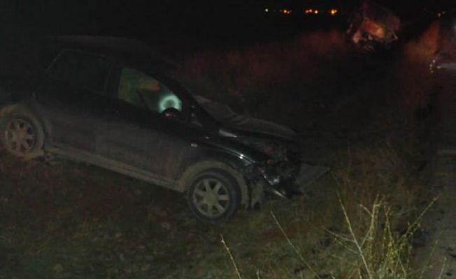 Afşin'de trafik kazası: 2 kişi yaralı