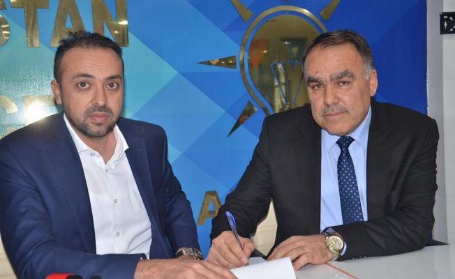 Bünyamin Kılıç, belediye başkan aday adaylığı başvurusunu yaptı