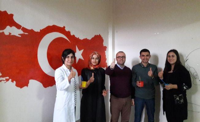 """Şehir Er Ali Beyaz İlkokulu'nda: """"Kendi koridorunu kendin oluştur"""" projesi"""