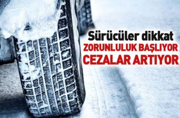 TESK'ten kış lastiği uyarısı! 1 Aralık'ı beklemeyin