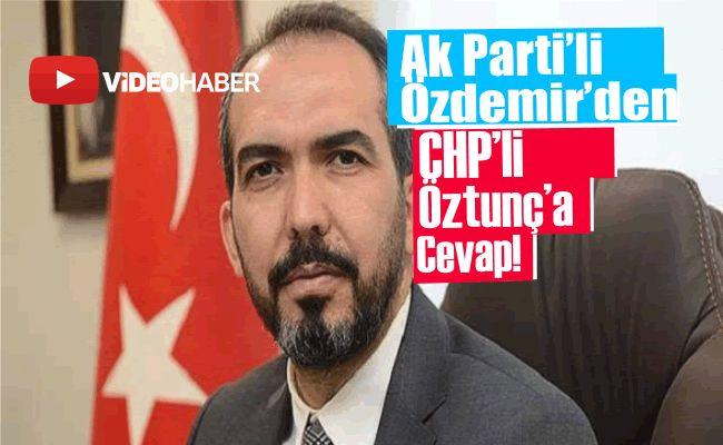 """Milletvekili Özdemir: """"Durumun takipçisiyiz"""""""