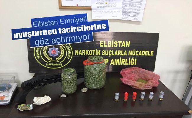 Elbistan'da sokak satıcılarına yönelik uyuşturucu operasyonu