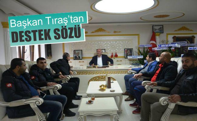 """Elbistan Belediye Başkanı Tıraş: """"Elbistanspor'a tam destek"""""""
