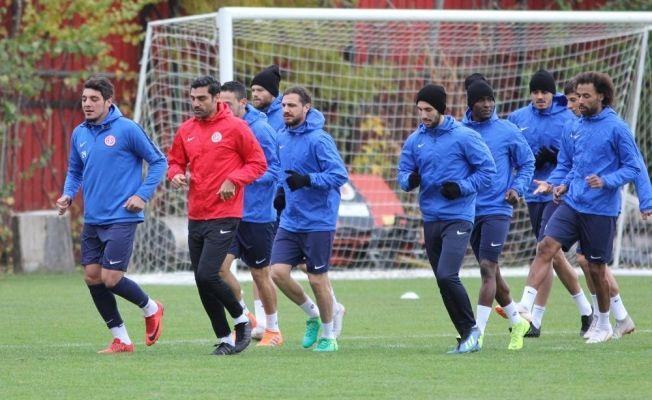 Antalyaspor, Erzurumspor maçı hazırlıklarını tamamladı