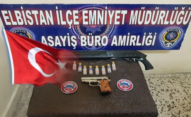 Elbistan'da yunus ekipleri, ruhsatsız silahlara geçit vermiyor