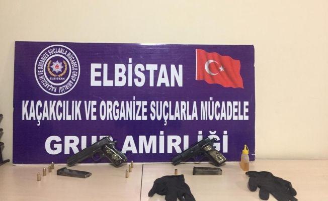 Elbistan'da polisin operasyonu yasa dışı silah alışverişini önledi