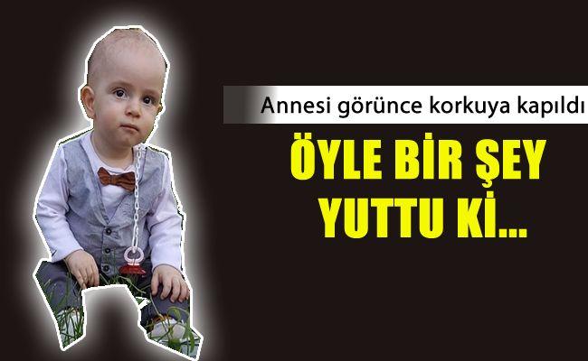 Kahramanmaraş'ta pil yutan çocuk ölümden döndü!