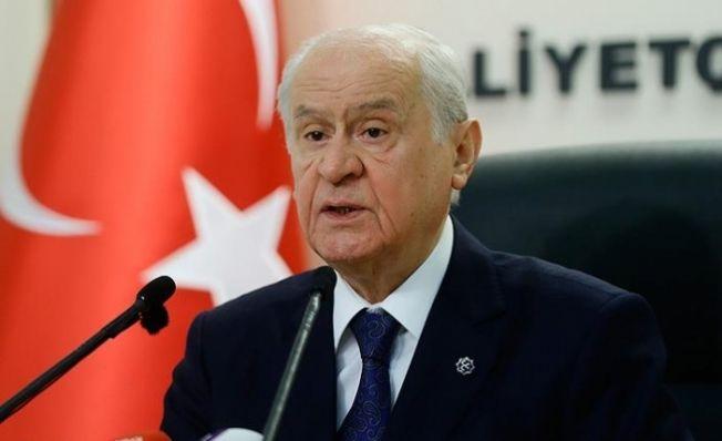 MHP Lideri Bahçeli'den 'Binali Yıldırım' açıklaması!