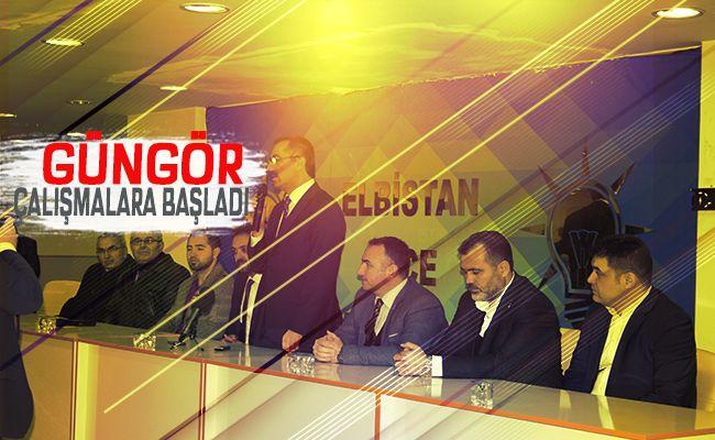 AK Parti büyükşehir adayı Hayrettin Güngör'den Elbistan ziyareti