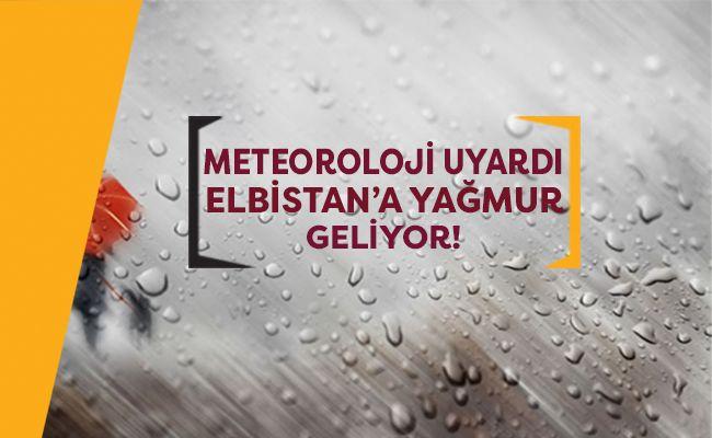 Elbistan'da bugün ve yarın hava durumu nasıl olacak?