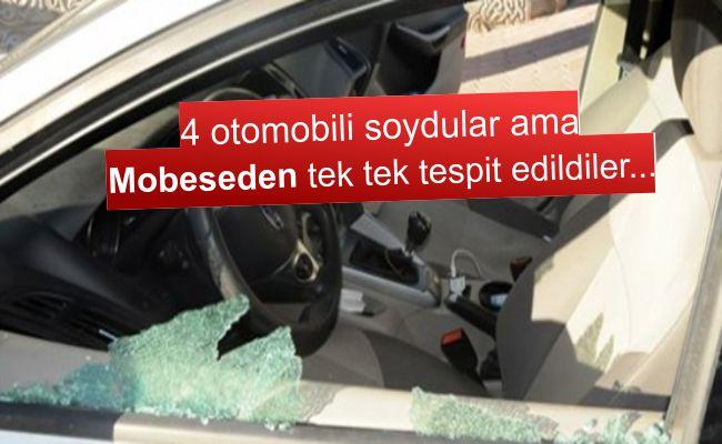 Kahramanmaraş'ta hırsızlık yapan 3 kişi yakalandı