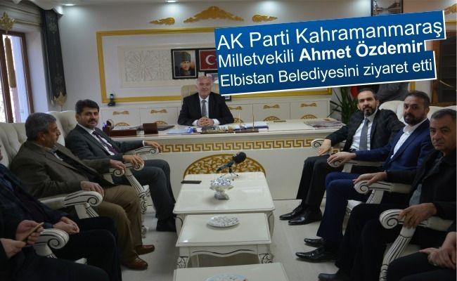 """Milletvekili Özdemir; """"geciken hizmetleri hızla telafi edeceğiz"""""""