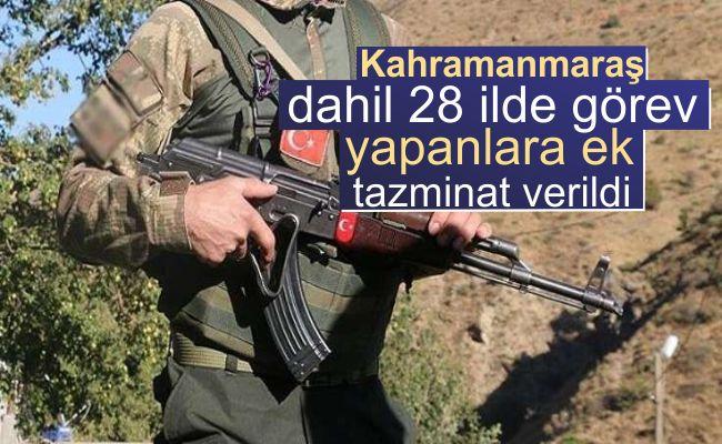 Güvenlik korucularına aylık 135 lira ek tazminat ödenecek