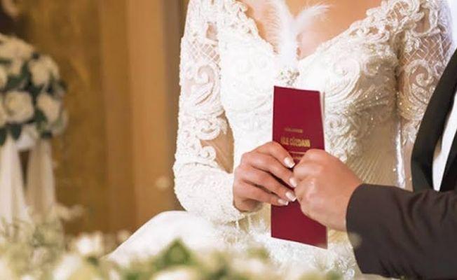 2018 yılında Elbistan'da 1099 çift nikah kıydı