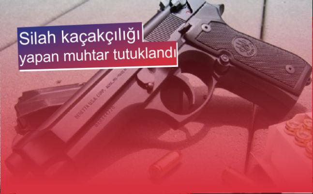 Silah ticareti yaptığı iddiasıyla 2 kişi tutuklandı