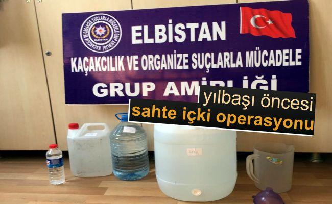 Elbistan'da yılbaşı öncesi polisler denetimi artırdı