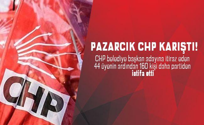 CHP'de istifalar peş peşe geliyor!
