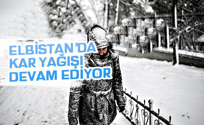 AKOM'dan Elbistan'a kar, buzlanma ve don uyarısı!