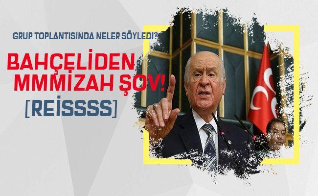 """Devlet Bahçeli: """"Gocunan varsa gocuk giysin"""""""
