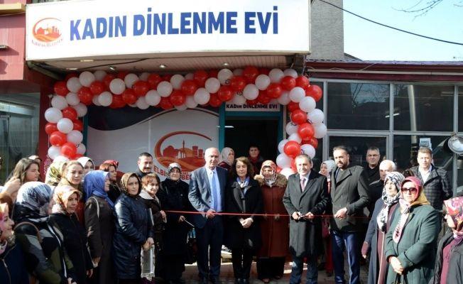 Elbistan Belediyesi Kadın dinlenme evi açıldı