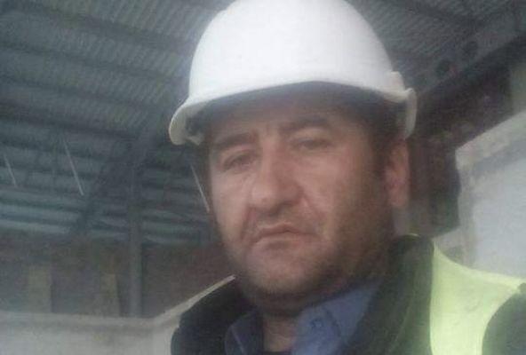 Çatıdan düşen Ekinözülü işçi hayatını kaybetti