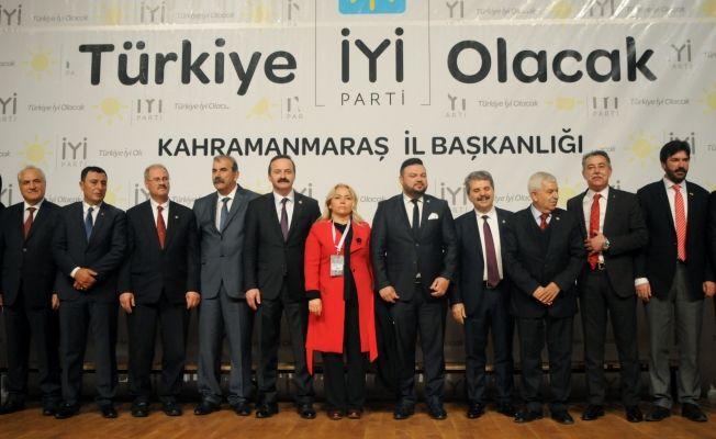 İYİ Parti'nin Kahramanmaraş aday tanıtım toplantısı yapıldı