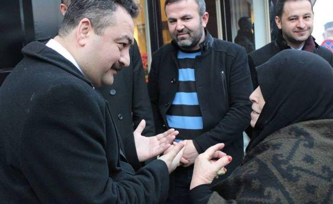 AK Parti Belediye Başkan Adayı Gürbüz, ziyaretlerini sürdürüyor