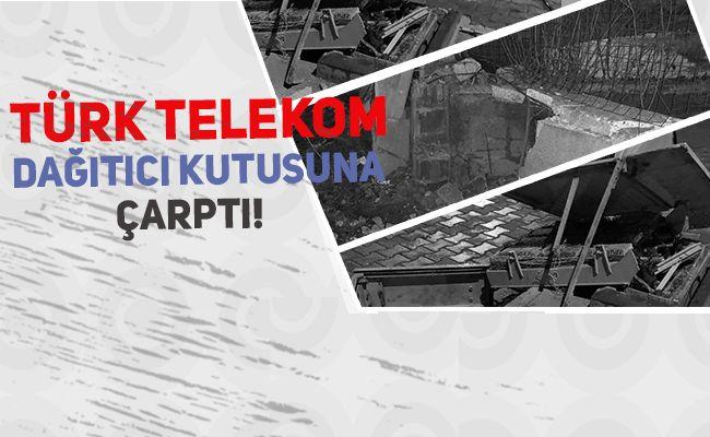 Elbistan'daki Trafik kazası mahallenin internet erişimini kesti
