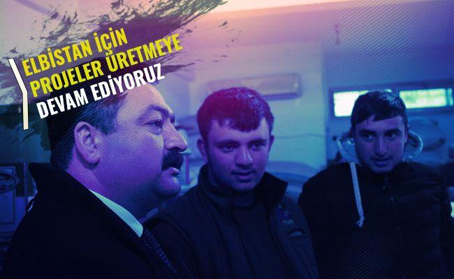 """Mehmet Gürbüz: """"Gönülden hizmet etme hedefi ile başladık"""""""