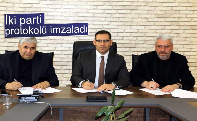 Belediye başkan adaylarından centilmenlik protokolü