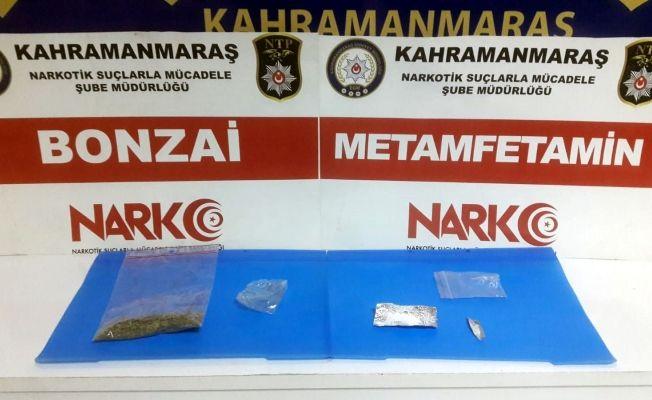 Kahramanmaraş'ta iki ayrı uyuşturucu operasyonu