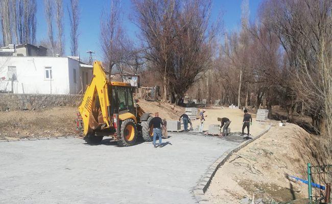 Elbistan Belediyesi çalışmaları hızlandırdı
