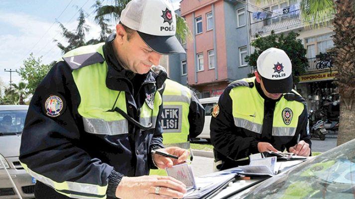 "Elbistan'da ""drift"" yapan sürücüye 6 bin 12 lira ceza"