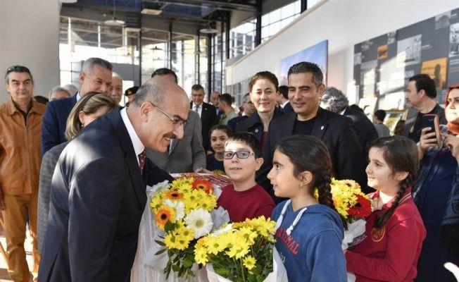 """Adana'da """"Müzede Geleneksel Dokunuşlar"""" sergisi açıldı"""